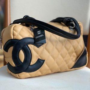 SALE‼️Real Leather Tan Cambon Bag👝